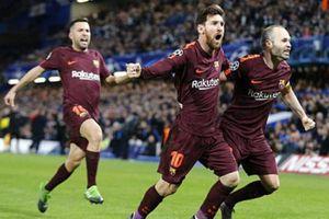 Chelsea 1-1 Barca: Messi lần đầu phá lưới Chelsea
