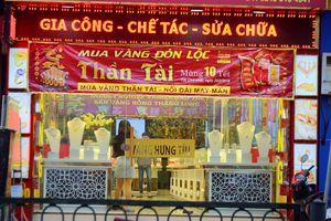 Ngày vía Thần Tài: Nhiều cửa hàng vàng vắng vẻ, ế khách