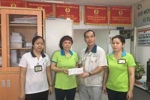'Vòng tay yêu thương' và 1.000 đồng của công nhân