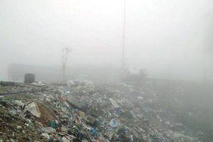 Hà Tĩnh: Rác thải 'bủa vây' nhà liên hợp cửa khẩu quốc tế Cầu Treo