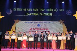 Trao Giải thưởng Đặng Thùy Trâm lần thứ IV cho 10 thầy thuốc trẻ tiêu biểu Thủ đô