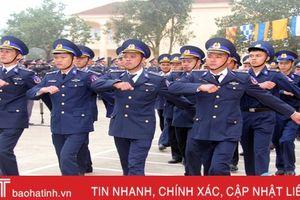 Cảnh sát biển Hải đội 102 ra quân huấn luyện năm 2018