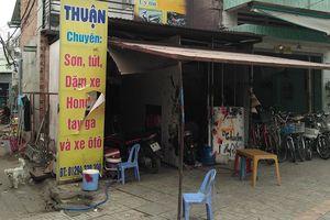 20 tên giang hồ dùng bom xăng 'khủng bố' tiệm sửa xe máy ở Đồng Nai