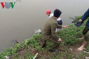 Thi thể trẻ sơ sinh nổi trên mương nước ở Hà Nam