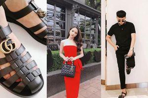 Duy Khánh tậu giày 'gây bão' của Gucci, Hương Giang rạng ngời trên đường phố Thái Lan