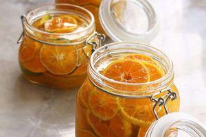 Cách làm cam ngâm đường phòng trừ cảm cúm hiệu quả trong trời nồm