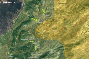 Quân Thổ Nhĩ Kỳ ồ ạt đánh chiếm liên tiếp 3 cứ địa người Kurd Syria ở Afrin