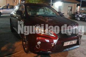 Vụ trộm Lexus của người tình cũ: Xe được định giá 2,8 tỉ đồng