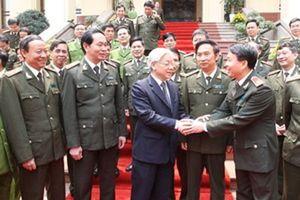 Tổng Bí thư: Cán bộ, chiến sĩ công an không được để bị lôi kéo bởi 'lợi ích nhóm'