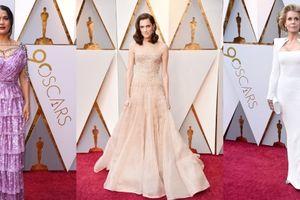 Dàn sao Hollywood hội tụ trên thảm đỏ lễ trao giải Oscar 2018