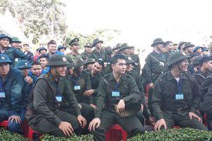 Ngày mai, gần 4.500 thanh niên TPHCM lên đường nhập ngũ
