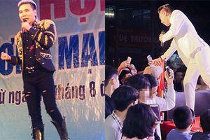 Châu Việt Cường diễn hội chợ hot ra sao trước vụ án?