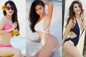 Ngoài Mâu Thủy còn có không ít chân dài diện bikini mừng sinh nhật!