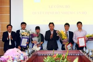 PVN bổ nhiệm lãnh đạo các Ban chuyên môn, Văn phòng Tập đoàn