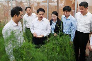 Chủ tịch UBND thành phố Hà Nội Nguyễn Đức Chung thăm, làm việc tại huyện Phú Xuyên