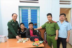 Quảng Ninh: Bắt giữ đối tượng vận chuyển hàng trăm gói ma túy