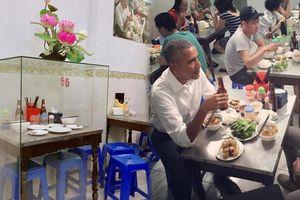 Tranh cãi xung quanh việc quán bún chả 'Obama'... lồng kính bộ bàn ghế: Hợp lý hay lố bịch?