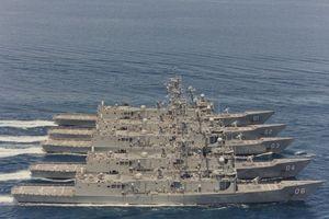 Dàn tàu chiến mạnh nhất châu Đại Dương của Australia
