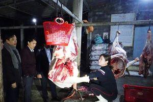 Kiểm soát giết mổ gia súc: Trên nóng, dưới lạnh