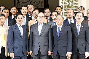 Bí thư Thành ủy TPHCM Nguyễn Thiện Nhân tiếp đoàn lãnh đạo thủ đô Phnom Penh, Campuchia