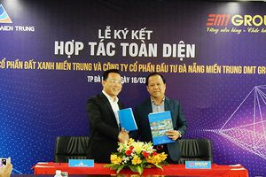 Đà Nẵng: DMT và Đất Xanh Miền Trung hợp tác dự án căn hộ, shophouse