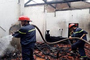 Quảng Trị: Chủ đi vắng, nhà bất ngờ bị 'bà hỏa' thiêu rụi
