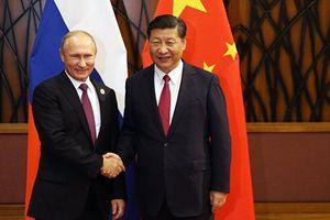 Tổng thống Nga Putin chúc mừng Chủ tịch Tập Cận Bình tái đắc cử