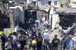 Rơi máy bay tại Philippines, 10 người thiệt mạng