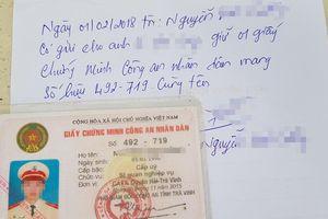 Nhiều cảnh sát cầm cố cả giấy chứng minh công an nhân dân để vay tiền