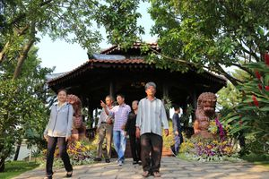 Nơi an nghỉ giữa vườn cây của nguyên Thủ tướng Phan Văn Khải
