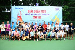 Tưng bừng giải quần vợt Thanh Niên – Becamex 2018