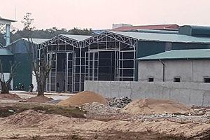 Huyện Thường Tín: Công trình xây dựng trên hơn 2.000m2 đất công chưa bị xử lý