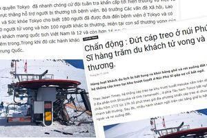 Thực hư tin đồn cáp treo Nhật Bản đứt, 12 người Việt bỏ mạng