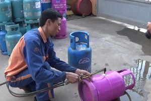'Cắt tai mài vỏ' bình gas: Cục trưởng Quản lý thị trường đề nghị sớm điều tra, làm rõ
