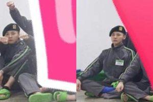 Hình ảnh vui vẻ của G-Dragon cùng đồng đội trong quân ngũ
