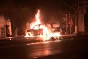 Quảng Ninh: Đốt ôtô nhà hàng xóm để trả thù cho vợ