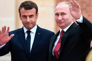 Tổng thống Pháp điện đàm chúc mừng ông Putin, không quên 'nhắc nhở' Nga