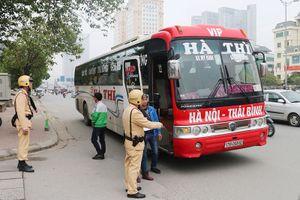 'Nắn' lộ trình trên 400 lượt xe khách qua Hà Nội