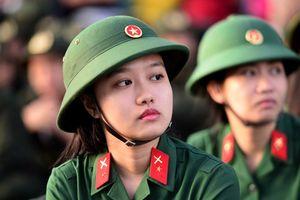Năm 2018 chỉ 3 trường quân đội tuyển học viên nữ