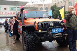 Người Trung Quốc được lái xe vào Việt Nam 180 km