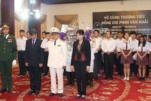 Ngày thứ hai cử hành lễ viếng nguyên Thủ tướng Phan Văn Khải