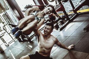 Ảnh cưới phòng gym: Trào lưu cực độc đáo của dân mê thể hình