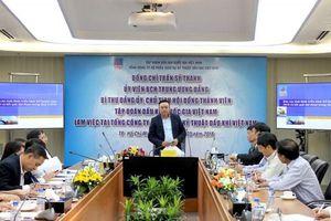 Chủ tịch HĐTV Tập đoàn Dầu khí Việt Nam làm việc với Tổng Công ty CP DVKT
