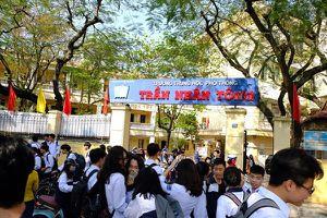 Học sinh Trường THPT Trần Nhân Tông đã được di dời sang địa điểm mới