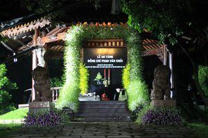 Trắng đêm chuẩn bị lễ an táng nguyên Thủ tướng Phan Văn Khải