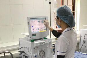 Đơn nguyên thận nhân tạo Bệnh viện đa khoa tỉnh Hòa Bình hoạt động trở lại