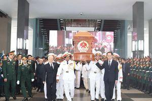 Thương tiếc tiễn đưa nguyên Thủ tướng Phan Văn Khải về đất mẹ