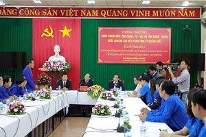 Bản tin Tháng Thanh niên 2018: Thanh niên Lào thăm Quảng Ngãi