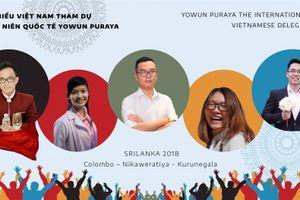 Những gương mặt tiêu biểu đến Srilanka dự liên hoan thanh niên quốc tế