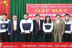 9 học sinh Hà Tĩnh thi chọn đội tuyển quốc gia dự thi HSG quốc tế, khu vực